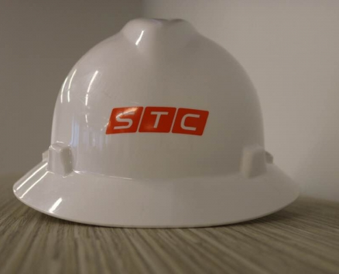STC Safety Helmet with logo