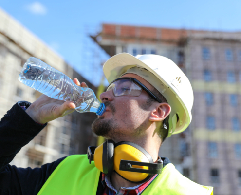 Prepare Your Employees for Warmer Weather with These Construction Safety Tips from STC